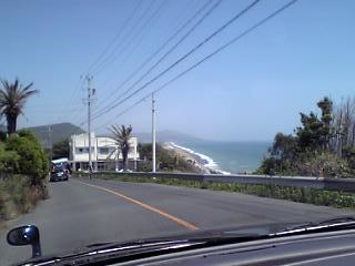 恋路が浜付近
