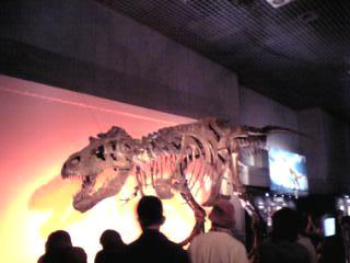かはく、恐竜展