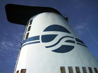 去年乗船のきたかみの排気塔