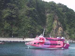 東海汽船、高速船