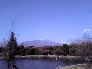 白州蒸留所の池