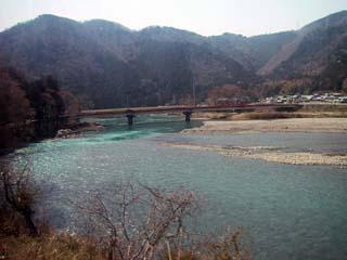 樽見鉄道沿線の川