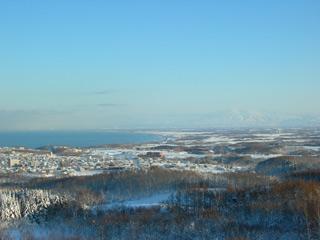オホーツク流氷館、展望台